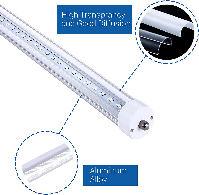 80 w 2 pi/èces Calex fS-u starter pour tubes fluorescents de 4