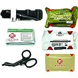 Recon Medical Bleed Kit -Includes Recon Medical GEN 4 Black TQ Vacuumed Sealed Bag