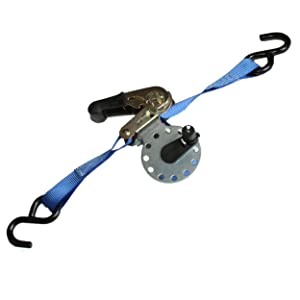"""Augo Ratchet Winder - New! 1"""" Ratchet Strap Winder Tool for Securing & Storing Tie Down Material - Great for Hauling Motorcycles, Moving Furniture, Heavy Duty Gear, Cargo +1 Ratchet"""