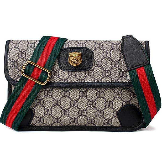 0b9a10c22725 Dboar Womens Fashion Mini Waist Bag Fanny Packs Crossbody bags Cell Phone  Pouch Wallet (Larger