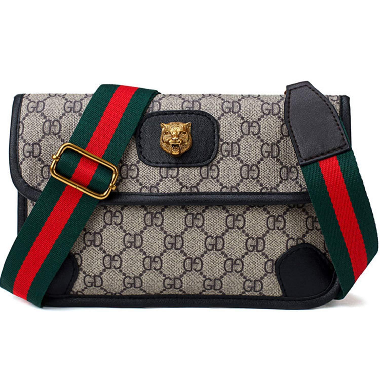 Dboar Womens Fashion Mini Waist Bag Fanny Packs Crossbody bags Cell Phone Pouch Wallet (Larger-Black) by Dboar