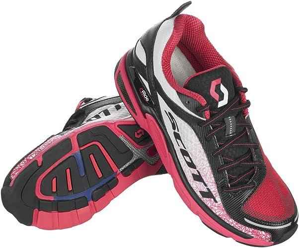 Scott WS eRide Support 2 Zapatilla de Running Blanco/Rosa: Amazon.es: Zapatos y complementos