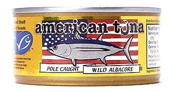 American Tuna Sustainable Albacore Canned Tuna