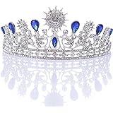 Remedios Königliche Kristall Strass Hochzeit Tiara Krone Festzug Prinzessin Stirnband Diadem