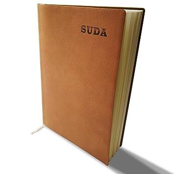 Eachgoo Lined Cuaderno A5, Tapa Dura 100 páginas Agenda ...