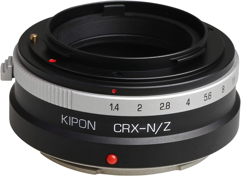 Kipon Adapter for Contarex Mount Lens to Nikon Z Full Frame Mirrorless Camera