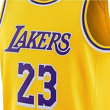 ERMEI Lakers James Trikot 23 Baloncesto Jersey niños Hombres ...