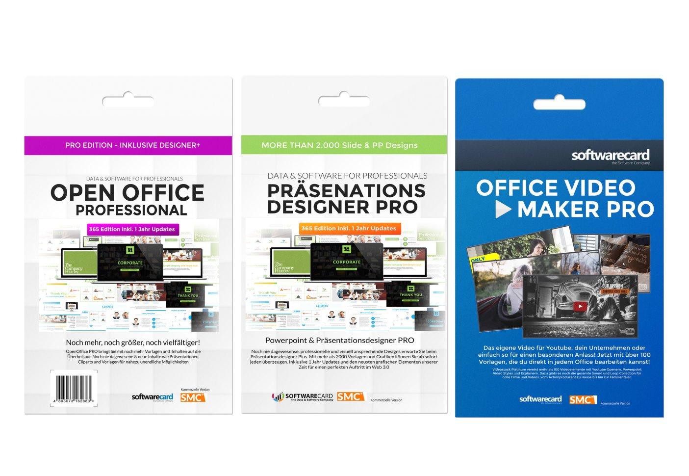 Open Office Platinum Edition 2017 . Mit über 20.000 Vorlagen ...