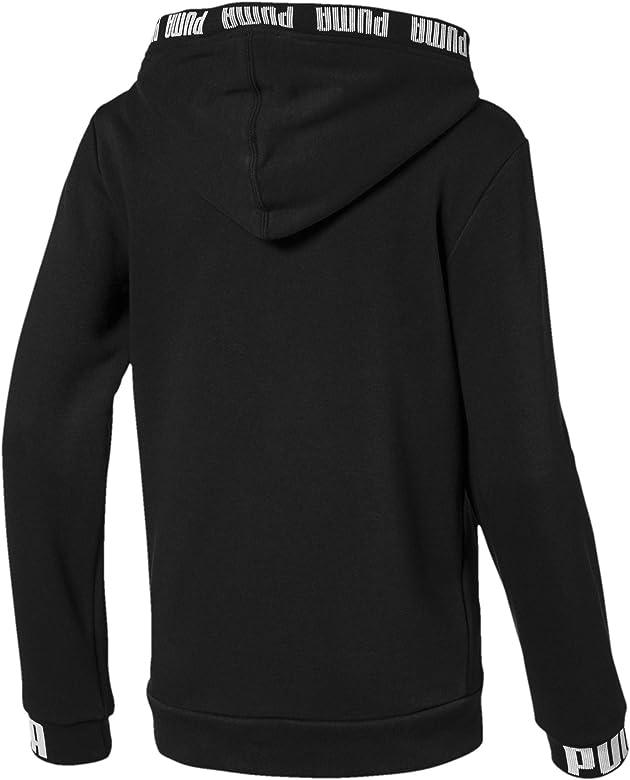 PUMA Amplified Hooded Jacket B Sudadera, Niños, Negro (Cotton ...
