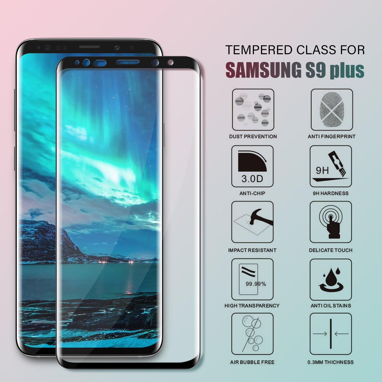 SGIN Galaxy S9 Plus Panzerglas Schutzfolie Premium Amazon Elektronik