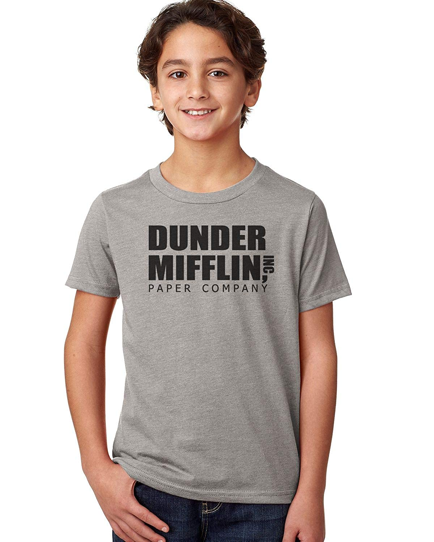 Good Clothes Co Dunder Mifflin Unisex Youth Shirt