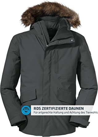 Sch/öffel Mens Down Jacket Budapest M Down thermal jacket.