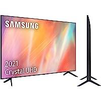 """Samsung 4K UHD 2021 55AU7105 - Smart TV de 55"""" con Resolución Crystal UHD, Procesador Crystal UHD, HDR10+, PurColor…"""