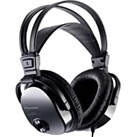 Pioneer Fully Enclosed Dynamic Headphones with Self Adjusting Head Band and Soft Leather Ear Pads - Black