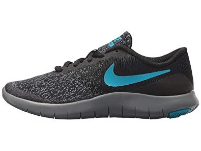 brand new 8d2a3 ced7a Nike Boys Flex Contact (GS) Running Shoes (6 Big Kid M, Black