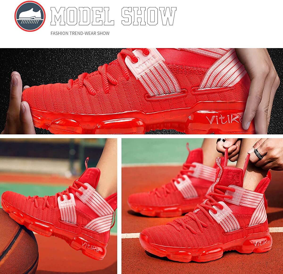 Zapatillas Unisex Ni/ños Zapatos de Baloncesto Casual Zapatos Correr Sneakers para Adolescente Unisex