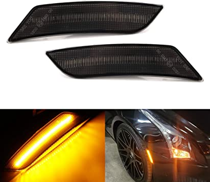 Front Fender Side Marker Light Lamp One Pair for 2016 2017 ATS CTS Camaro