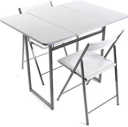 Versa Andrea Set Tavolo E Due Sedie Per Cucina Terrazzo Giardino Balcone O Sala Da Pranzo