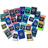 26 Color 2g Each Variety Pack 2 Mica Powder Pigment (Epoxy,Resin,Soap, Dye) Black Diamond Pigments