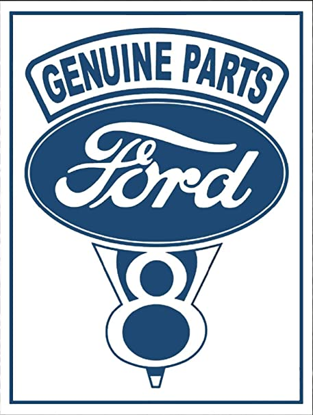 LORENZO Genuine Parts Ford Targa in Metallo Vintage Metal ...
