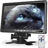 kuman 7 Inch Monitor HD Display 1024x600 IPS Screen for Raspberry Pi 4 B 3 2B B 1 B+ A+ with HDMI VGA Input, Built in…