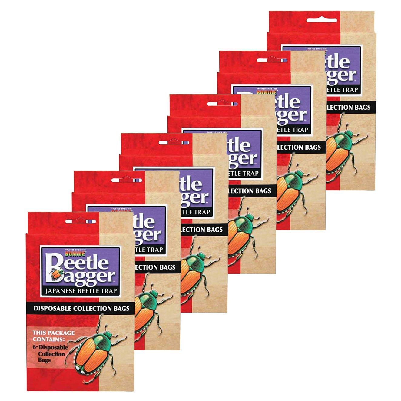 Bonide Japanese Beetle Trap Bags (6 Pack) (36 Bags Total)