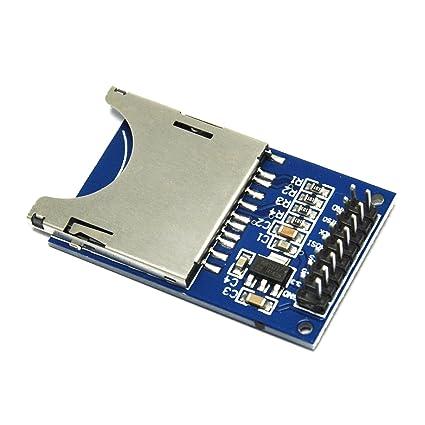 Módulo de enchufe Gikfun lector de ranura para tarjeta SD ...