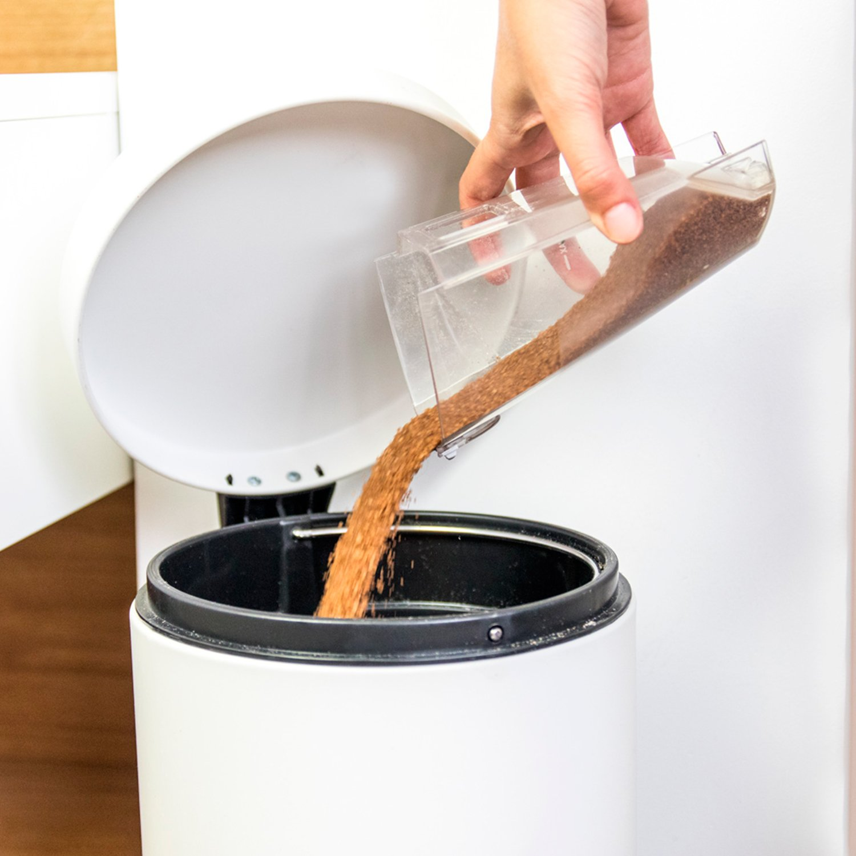 1 Liter Cecotec Aspirador escoba CONGA DUO STICK 75 Decibelios 800 W