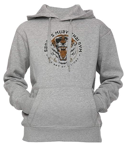 Erido Sagats Muay Thai Gym Unisexo Hombre Mujer Sudadera con Capucha Pullover Gris Todos Los Tamaños Mens Womens Hoodie Sweatshirt Grey: Amazon.es: Ropa y ...
