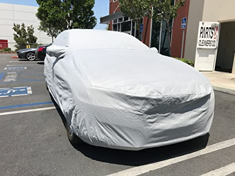 PREMIUM INDOOR BREATHABLE DUST PROOF BLACK FULL CAR COVER 130 GSM SOFT GARAGE SHOWROOM BMW 4 SERIES M4 2014 ON Rhinos-Autostyling FITS