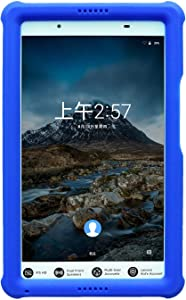 """MingShore Rugged Case for Lenovo Tab 4 8 inch TB-8504F TB-8504N TB-8504X, Kid Friendly Protective Silicone Heavy Duty Cover Fit Lenovo Tab 4 8"""" HD Android Tablet 2017 Release ZA2B0009US"""