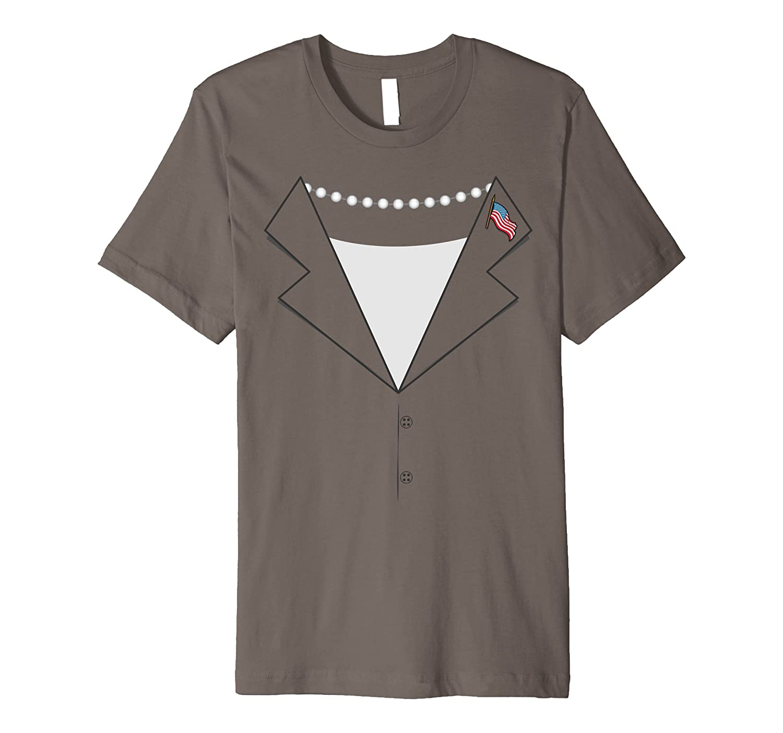 Female Politician Costume Shirt - Pantsuit Womens T-shirt