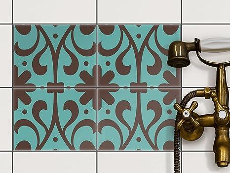 Piastrelle-bagno | Adesivi murali sticker per pavimenti in ceramica ...