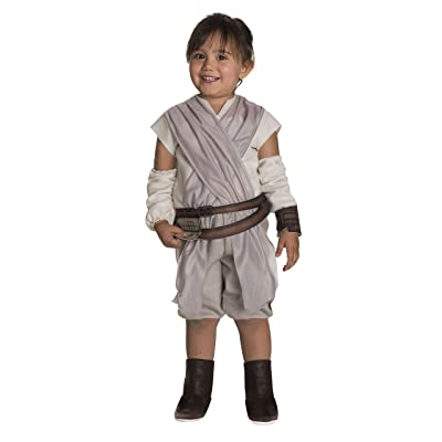 Rubie's Costume Girls Star Wars VII: The Force Awakens Rey Costume, Multicolor, 4T: Toys & Games