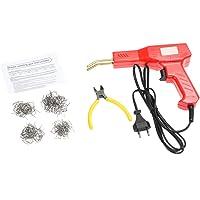 KKmoon 50W Grapadora Caliente Plastico Máquina Kit de Reparación de Parachoques de Automóviles Soldadura Soldador…
