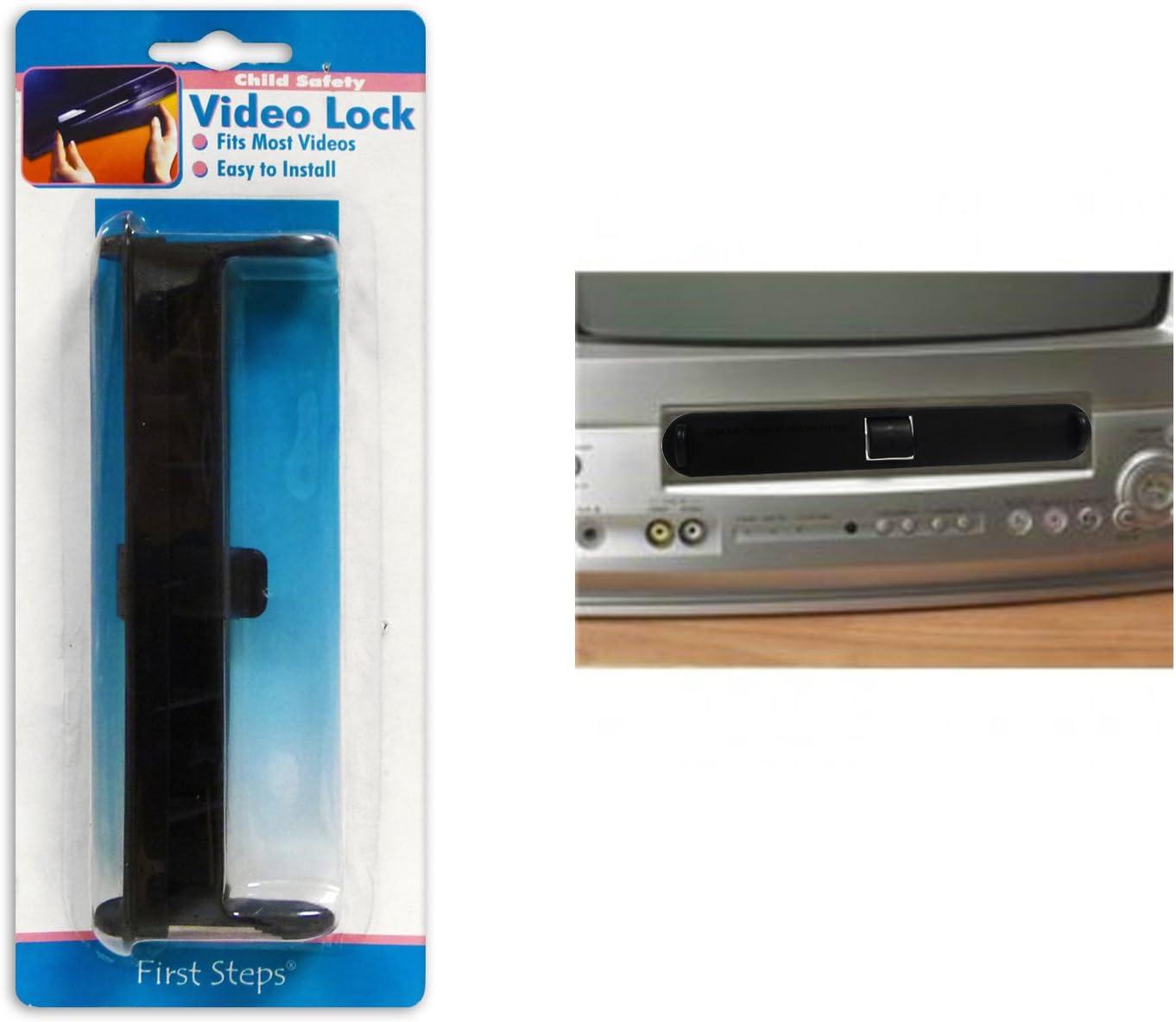 First Steps de video/VHS de candado, seguro para niños: Amazon.es: Bebé