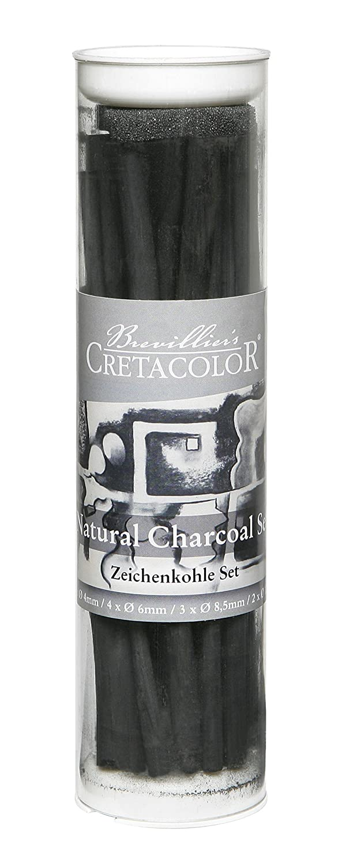 CRETACOLOR NATURAL CHARCOAL SET 49399