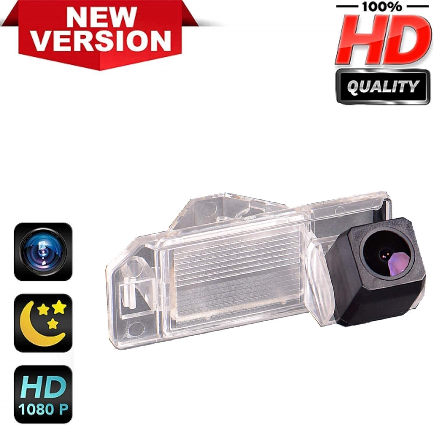 HD 720p Reversing Camera in Number Plate Light License Rear View Backup camera for Mitsubishi ASX RVR Outlander Sport CS6 Citroen C4 Aircross Peugeot 4008 2010~2015