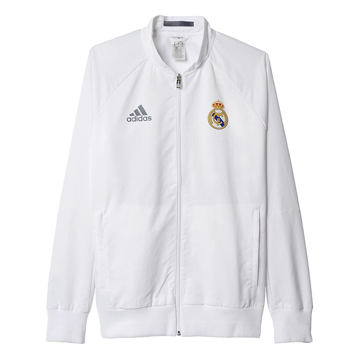 adidas Women's Real Madrid Anthem Jacket AI4661