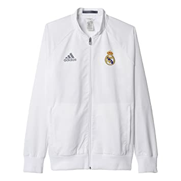 Adidas Real Madrid CF Anth JKT W 2015 2016 - Chaqueta para Mujer  Amazon ec69c74153526