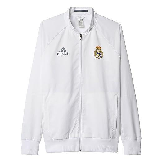 d0a54f0fa6 Amazon.com: Adidas Anthem (Real Madrid) Jacket: Sports & Outdoors