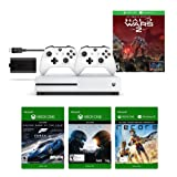 Amazon Price History for:Xbox One S 1TB Console - Halo Wars 2 Bundle + Play & Charge Kit + Xbox White Wireless Controller + 3 Digital Games