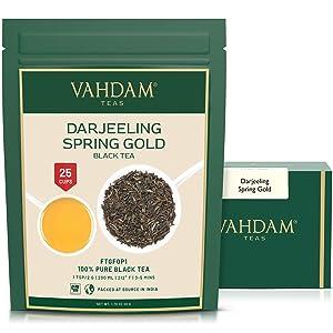 Best Tea on Amazon - VAHDAM Darjeeling Tea Leaves from Himalayas Review