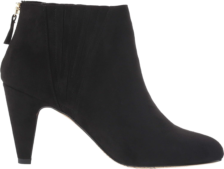 Bella Vita Women's Nella Ii Dress Bootie Ankle Boot Black Suede