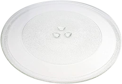Compatible with 8172138 4358641 12 3//4 Inch Glass Tray WP8172138 Microwave Glass Turntable Plate Replacement for Amana MVH240W P1319504M