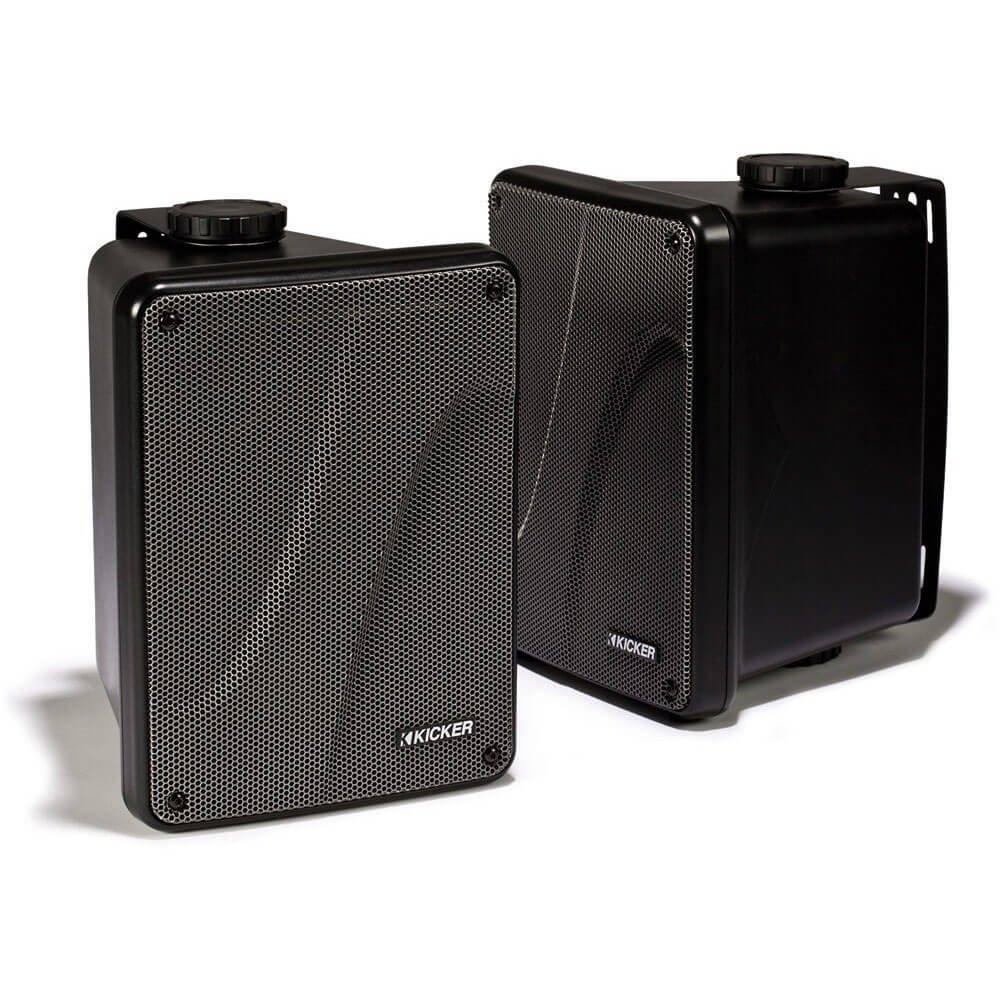 """Amazon.com: Kicker KB6000 6.5"""" Full Range Indoor/Outdoor/Marine Speakers -  Black 11KB6000B: Cell Phones & Accessories"""
