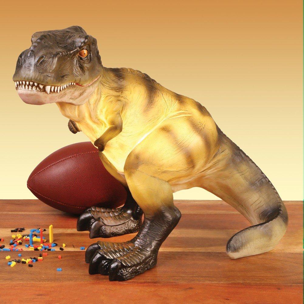 恐竜樹脂テーブルランプ – T - Rexティラノザウルス B073XQWGXL 22412