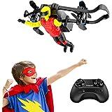 Mini Drone, Tomzon U48B RC Stunt Doll with Paraglider Flight, One Key Demo, Altitude Hold RC Quadcopter, Nano Drone for…