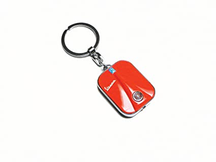 Llavero escudo Vespa a LED rojo: Amazon.es: Juguetes y juegos