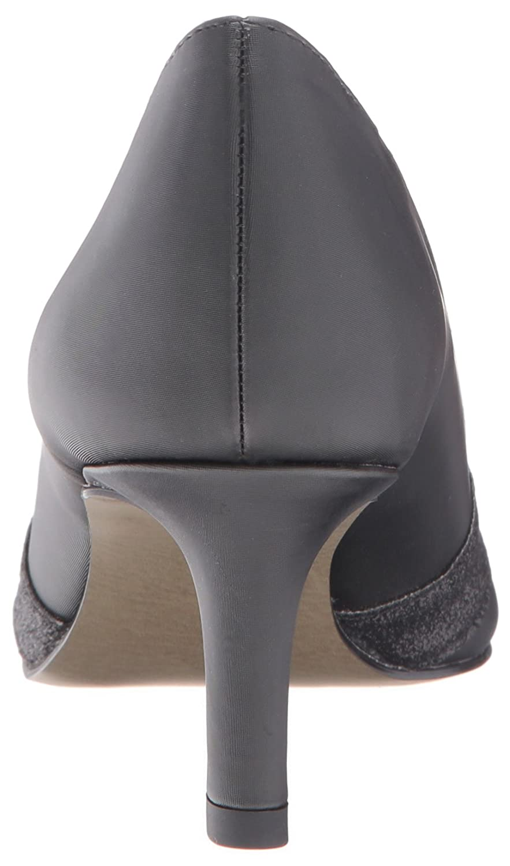 Easy Street Women's Valiant Dress Pump B01HSLOD0Q 7.5 B(M) US Black Satin/Glitter